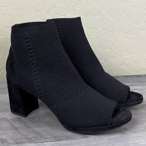 Eileen Fisher Margate Stretch Peep Toe Bootie